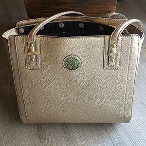 Anne klein gold purse